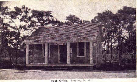 Second Brielle Post Office, on Green Avenue. Now Office of a General Contractor