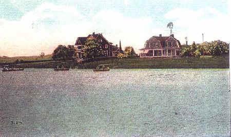 (Circa 1919) The Glimmer Glass, Manasquan River