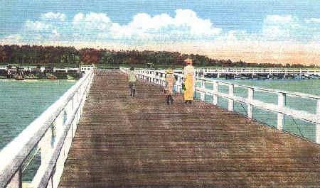 (Circa 1920) Brielle Beach Bridge