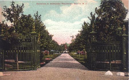 This Driveway is now Sycamore Lane